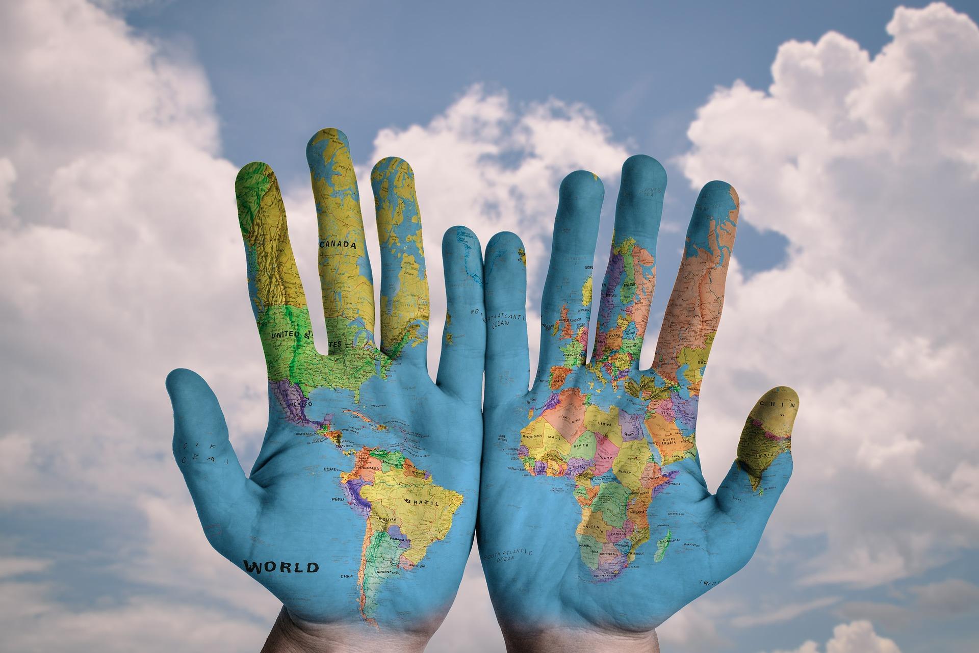 מספר יעדים שווים מסביב לעולם